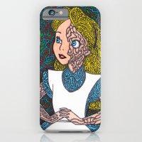 Alice In Psychedelic iPhone 6 Slim Case
