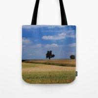 Wheat Field- JUSTART © Tote Bag