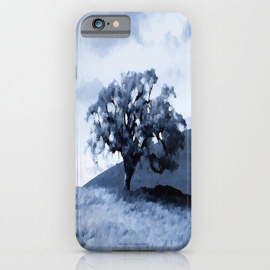 Vallecitos Road Oak Tree 005 iPhone & iPod Case