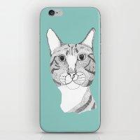 Tabbycat iPhone & iPod Skin
