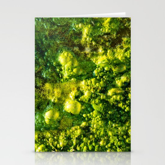 The Green Goo Stationery Card