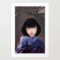Natalia #3 Art Print