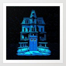 Tardis Horror Place Art Print