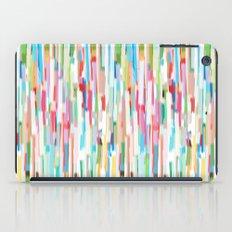 vertical brush strokes  iPad Case