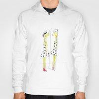 Gloria the Giraffe in a polka dot dress Hoody