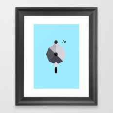 coffee break Framed Art Print