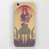 Sognavo Che Mi Portavi U… iPhone & iPod Skin