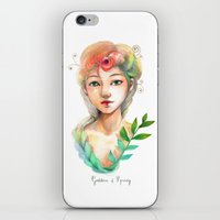 Goddess of  Spring iPhone & iPod Skin