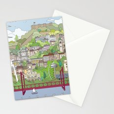 Lisbon City Poster Stationery Cards