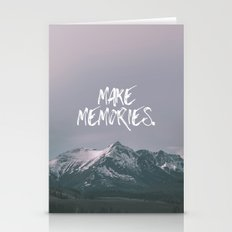 Make Memories Stationery Cards