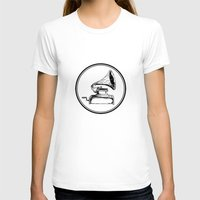 Graviola Filmes Womens Fitted Tee White SMALL