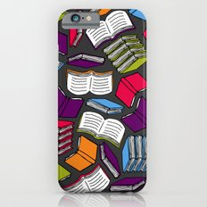 So Many Colorful Books... iPhone 6 Slim Case