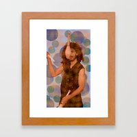The juggler Framed Art Print