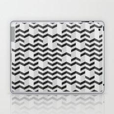 FOLDED / black Laptop & iPad Skin