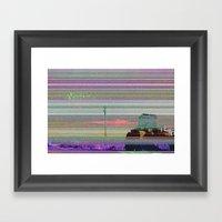 Autotune 1 Framed Art Print