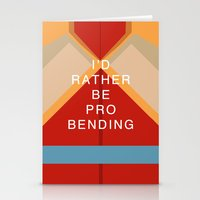 Korra Would Rather Be Pr… Stationery Cards
