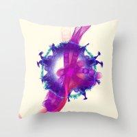 Antenna Nebula Throw Pillow