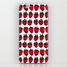 little strawberries iPhone & iPod Skin