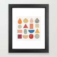 abstractions 1 Framed Art Print
