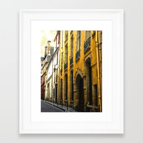 Paris Lane Framed Art Print