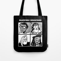 Blackwax Boulevard Album… Tote Bag