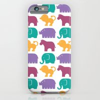 Fun At The Zoo: Pattern iPhone 6 Slim Case