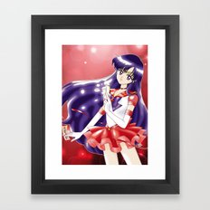 Eternal Sailor Mars Framed Art Print