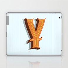 Letter Y Laptop & iPad Skin