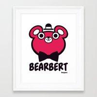 Bearbert Framed Art Print
