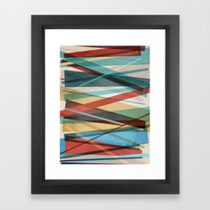 Geometric Prison Framed Art Print