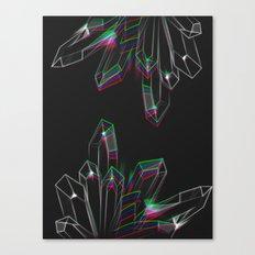 Aura Quartz Canvas Print