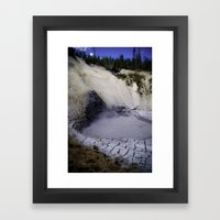 Cracked Earth Framed Art Print