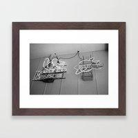 Early Bird Special Framed Art Print