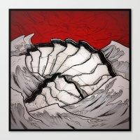 Deep Sea Creature Canvas Print