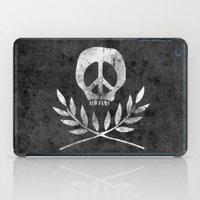 Peace Is Death iPad Case