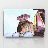 Coconut beach iPad Case
