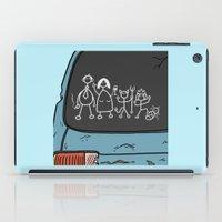 Honest Stick Figure Fami… iPad Case