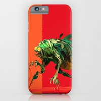 iPhone & iPod Case featuring Mad fly by Kivapo