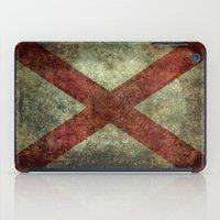 Alabama State Flag iPad Case