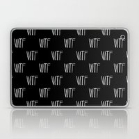 WTF Noir Laptop & iPad Skin