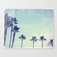Palm prix Canvas Print