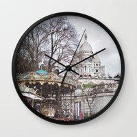Paris, Montmartre Wall Clock