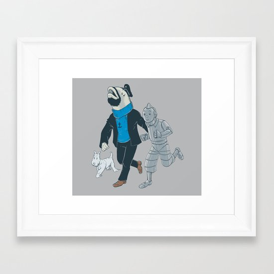 The Literal Adventures of... Framed Art Print