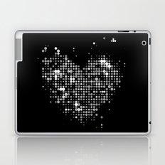 Heart2 Black Laptop & iPad Skin