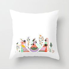 Musicians Throw Pillow
