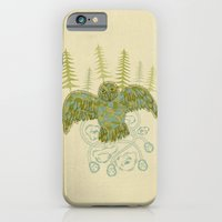 iPhone & iPod Case featuring owl by Santiago Uceda