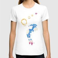 The Lord Of The Rings Womens Fitted Tee White SMALL