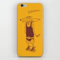 Superwerewolf iPhone & iPod Skin