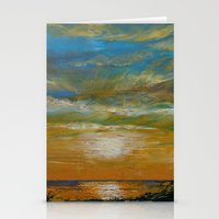 Hawaii Sunset Stationery Cards