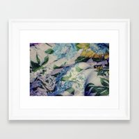 Blue Bell Framed Art Print